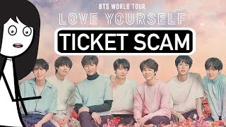 BTS Concert: How I got Ticket Scammed