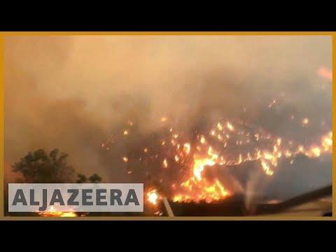 🇺🇸🔥California wildfires: Death toll rises to 25 as blazes continue | Al Jazeera English