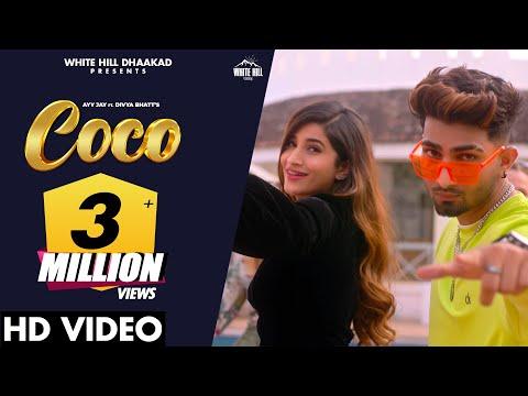 Coco (Official Video) | Ayy Jay Ft. Divya Bhatt | Isha Chawla | New Haryanvi Songs Haryanavi 2021