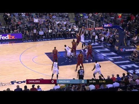 1st Quarter, One Box Video: Memphis Grizzlies vs. Cleveland Cavaliers