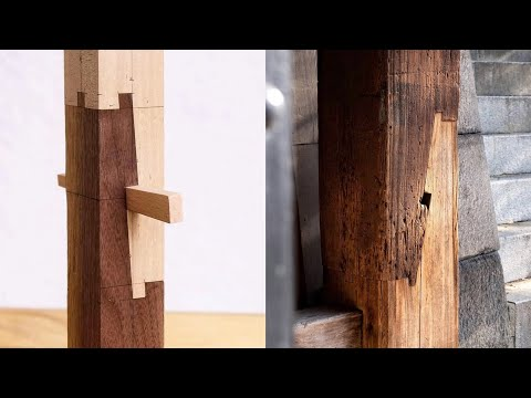 The Art of Traditional Japanese Wood Joinery: A Kyoto Woodworker Shows How Japanese Carpenters Created Wood Structures Without Nails or Glue