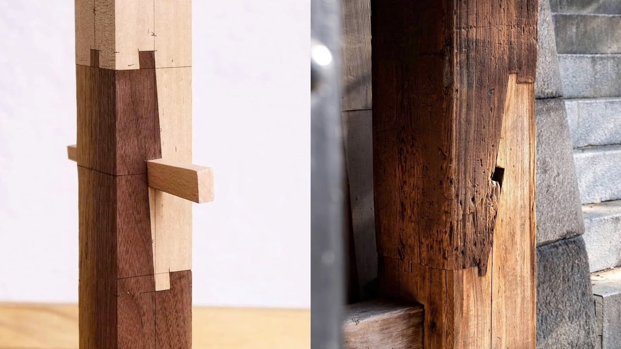 The Art Of Traditional Japanese Wood Joinery 日本伝統の技術 仕口 継手 Youtube