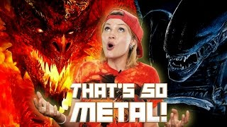 Fantasy vs. Sci-Fi! What Genre is More Metal? - THAT