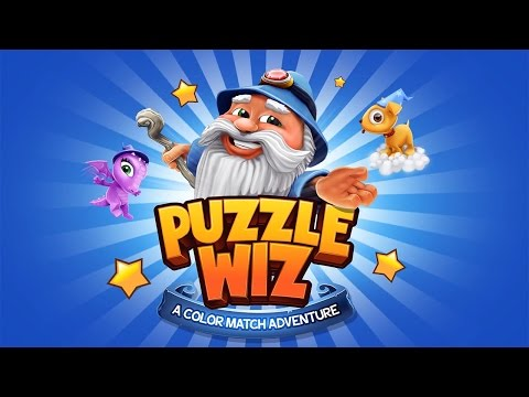 Puzzle Wiz (by Wicked Witch) - iOS/Android - HD Gameplay Trailer
