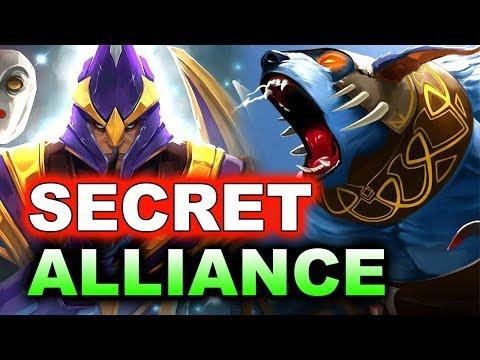 SECRET vs ALLIANCE - LVL 1 ROSH! - KL MAJOR DOTA 2