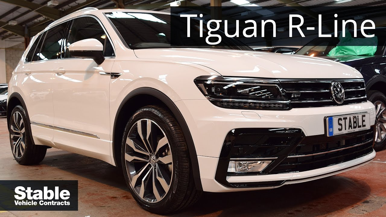 2017 volkswagen tiguan r line walk around youtube. Black Bedroom Furniture Sets. Home Design Ideas
