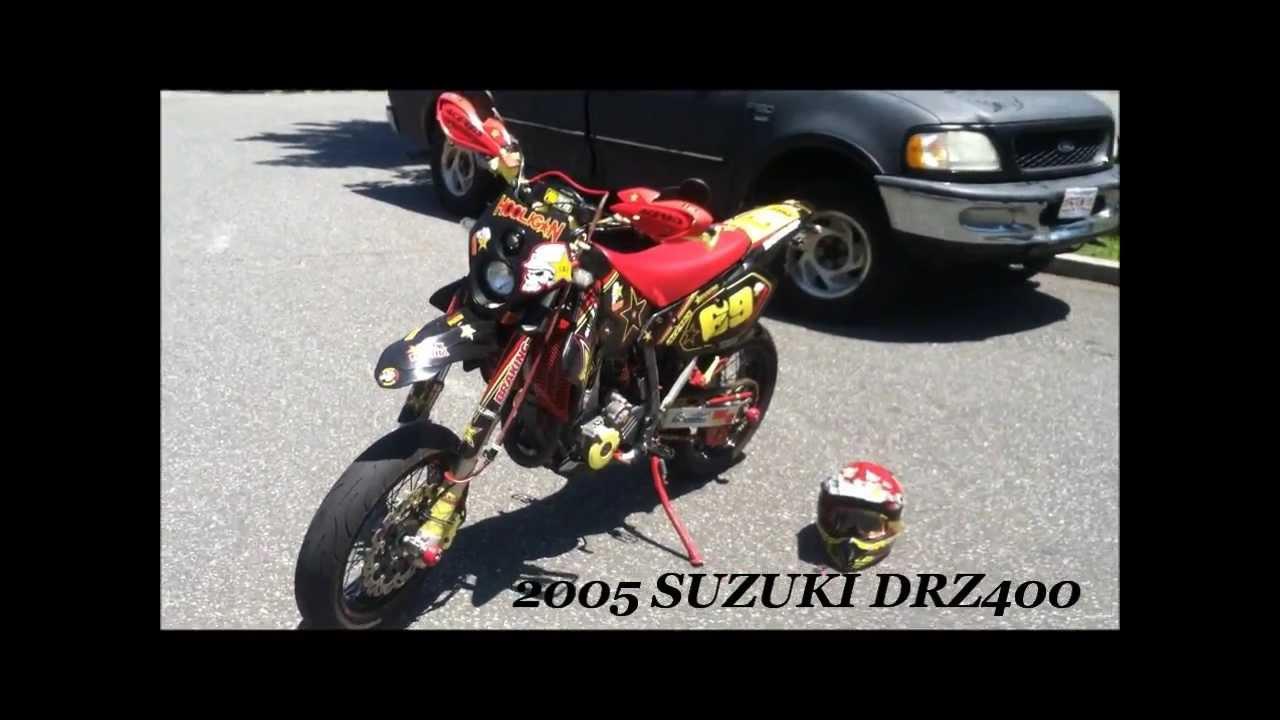 Pro Taper Handlebars >> Rockstar Suzuki Drz400s Converted Drz400Sm Walk Around ...