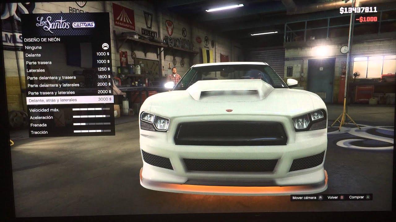 Gta5 Como Tuniar El Auto De Franklin Youtube