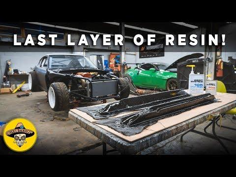 Finishing Carbon Fiber Doors & Rockers On The 240z Datsun | EP#34 | 4K
