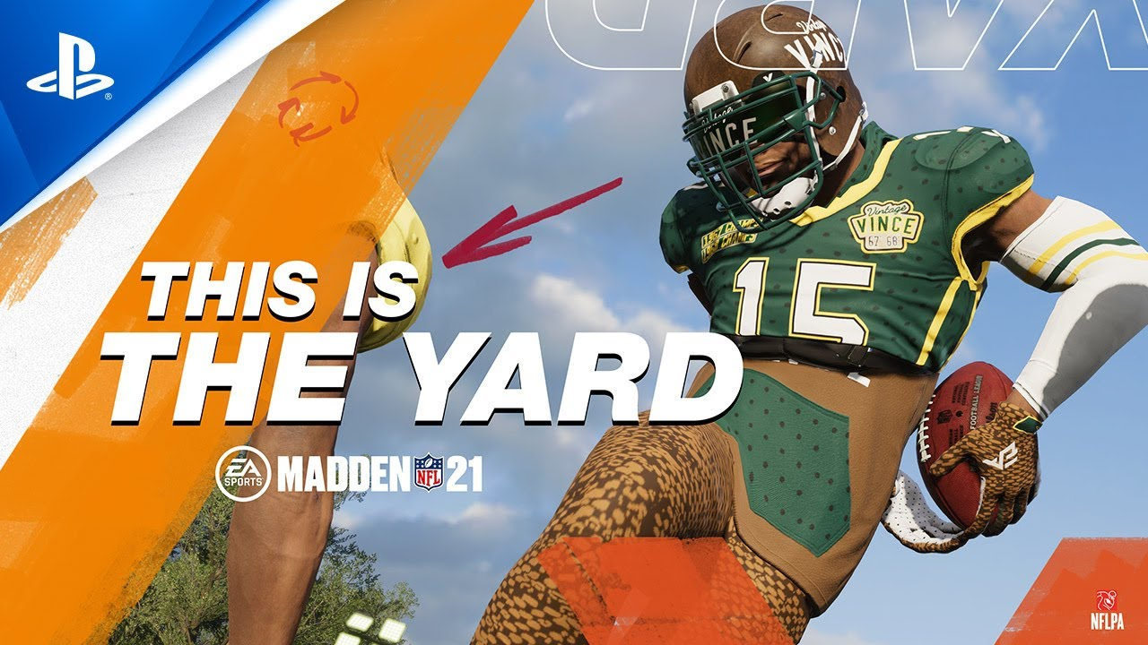 Madden NFL 21   The Yard Trailer   PS4