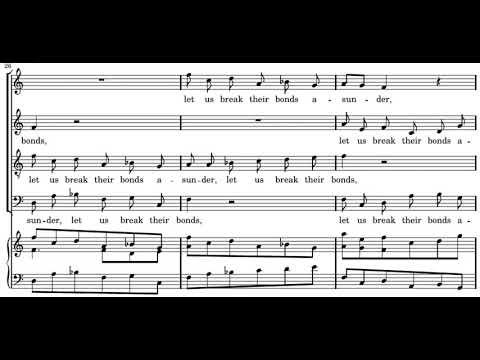 Händel: Messiah - 42. Let us break their bonds asunder - Gardiner