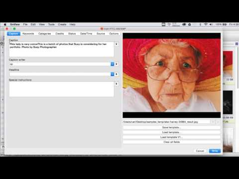 XnView Metadata How To - Part 1
