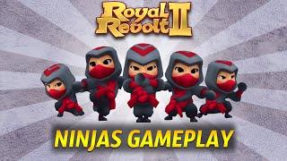 Royal Revolt 2 - Ninjas Gameplay!