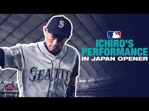 Ichiro Feels the Love During Japan Opener