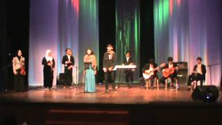 """Juara 2 Musikalisasi Puisi, Castra Mardika, Ovale Project. """"Dengan sepenuh cinta"""""""