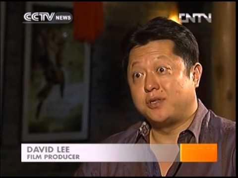 David U. Lee on CCTV Culture Express 07.03.2013