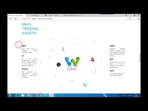 WeiDex - децентрализованный обмен, обеспечивает безопасность и контроль над сделками