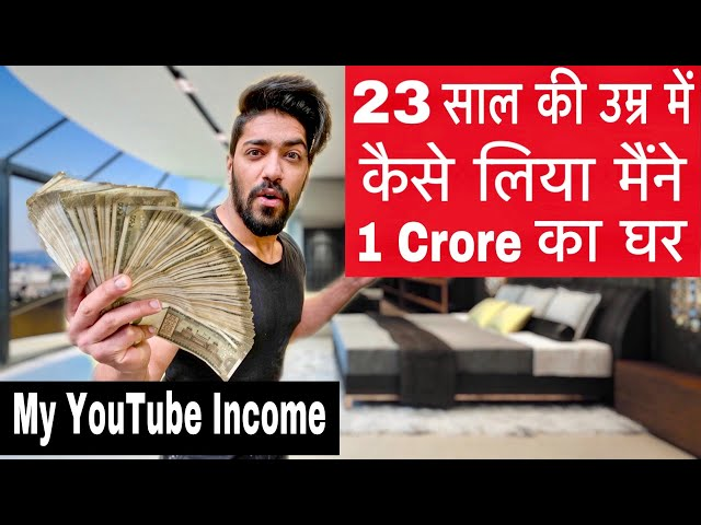How I Make Money - My YouTube Income - New House