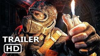 PS4 - Metro Exodus Tech Demo (2018) NVIDIA RTX technology