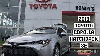 2019 Toyota Corolla Hatchback SE at Bondy's Toyota