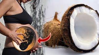 Das passiert, wenn du während der Schwangerschaft Kokosnüsse isst!