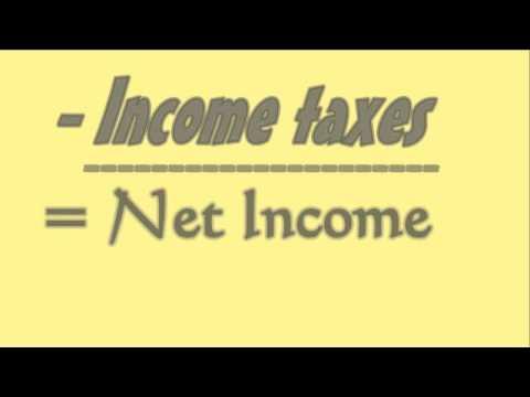 Multi Step Formula = Net Income