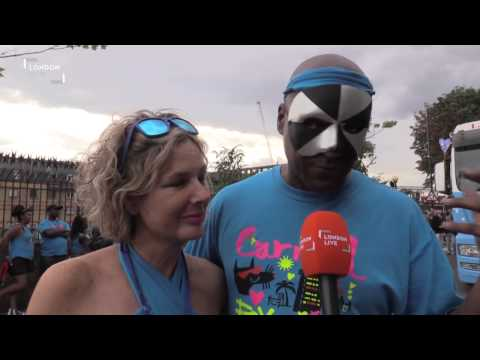 How did Colin Salmon and Fiona Hawthorne get involved with Notting Hill Carnival?