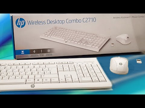 Unboxing The HP C2710