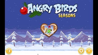 Angry Birds Seasons. Wreck the Halls (level 1-14) 3 stars Прохождение от SAFa