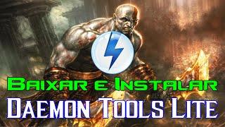 Como baixar e instalar Daemon Tools Lite corretamente (2016)
