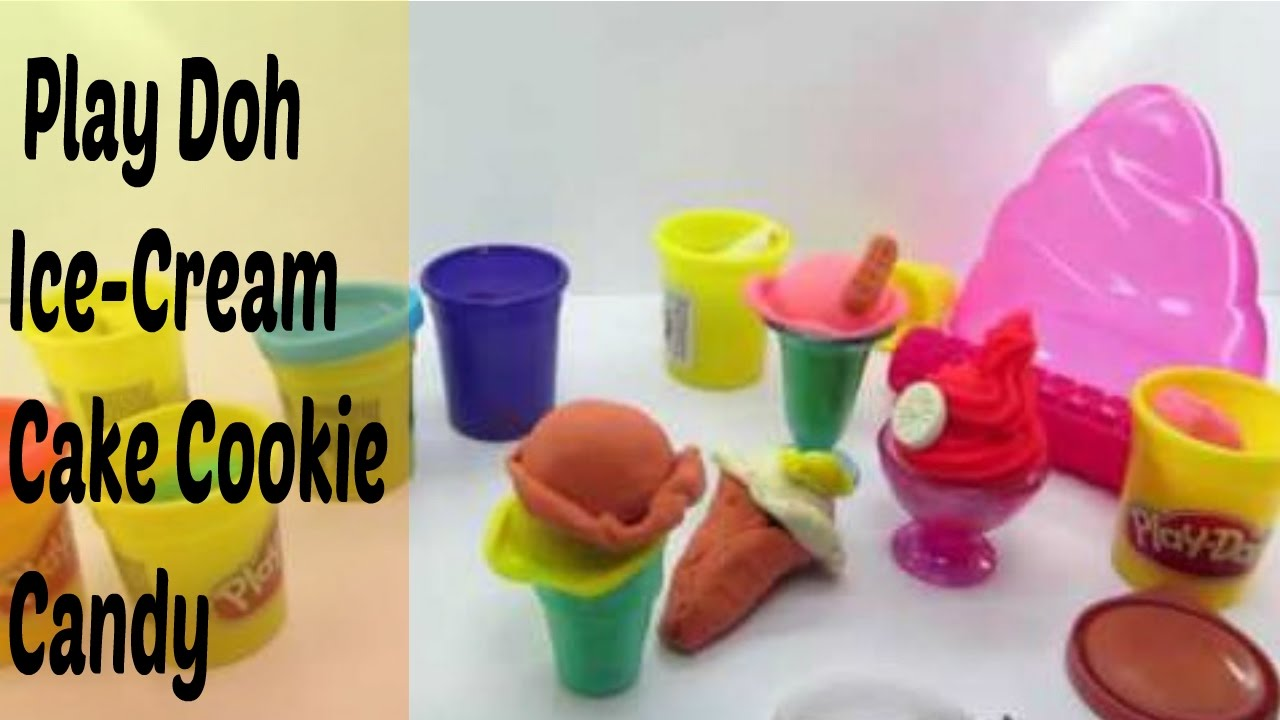 Play Doh Cake And Ice Cream Maker