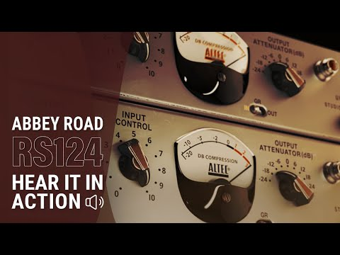Abbey Road RS124 Compressor Plugin: Hear it in Action