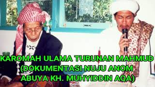 Video DOKUMENTASI ABUYA KH. MUHYIDDIN NUJU ANOM - KAROMAH ULAMA TURUNAN MAHMUD.mp4 download MP3, 3GP, MP4, WEBM, AVI, FLV Juli 2018