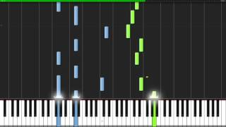 Une Larme (A Tear) - Modest Mussorgsky [Piano Tutorial] (Synthesia)