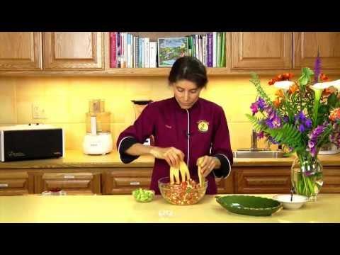 Raw Food Recipe: Mexican Corn and Avocado Salad
