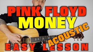 How to play Pink Floyd -Money (acoustic)