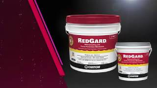 Protect Tile Installations With Redgard Liquid Waterproofing And Prevention Membrane
