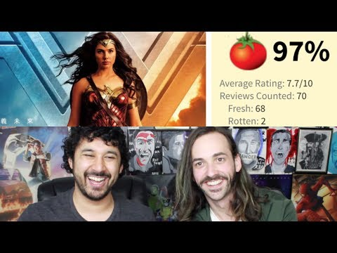 WONDER WOMAN - Rottentomatoes High Score REACTION!!!