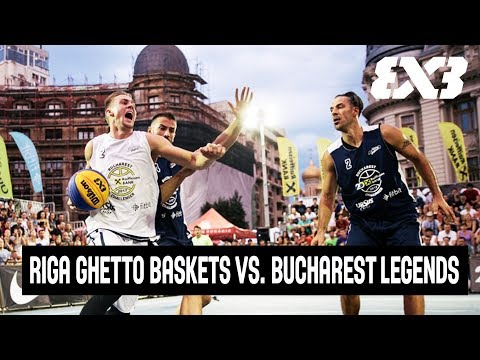 Riga Ghetto Basket vs. Bucharest Legends - Full Game - QF - FIBA 3x3 Bucharest Challenger 2017