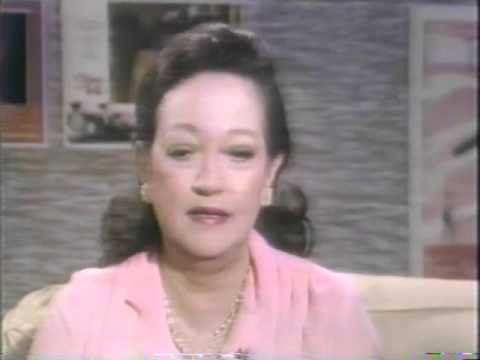 Dorothy Lamour, Rona Barrett, 1981Tomorrow TV Interview