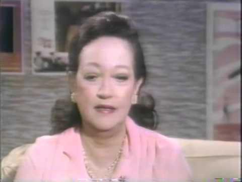 Dorothy Lamour, Rona Barrett, 1981Tomorrow TV