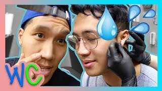 K-POP DANCING & EAR PIERCINGS!!! (WILD CARD)