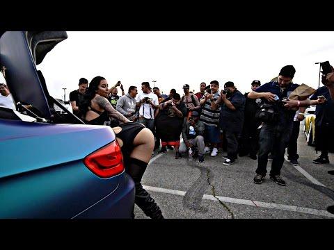 Hot black girl gets fucked in the garage – Naked Girls