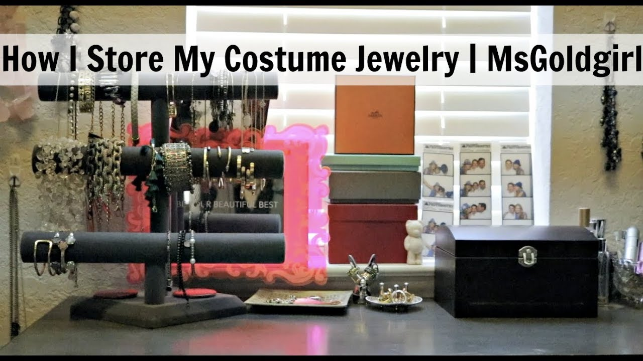 1f08ed1be96 How I Store My Costume Jewelry | MsGoldgirl