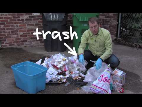 How To: Recycle and Compost more with a Trash Audit – Green Living Atlanta Georgia.
