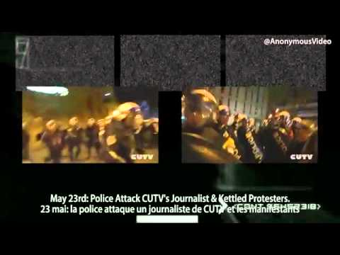 Download Anonymous Qubec  Police  Violence  -.flv