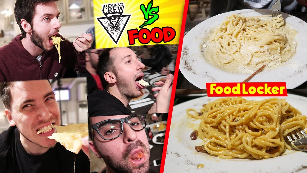 Illuminati crew vs food food locker 3 cibo romano youtube for Cibo romano