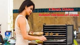 8 Simply Chicken Breast Recipes at Home - How To Cook Chicken🍗🍗