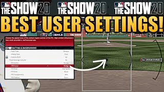 Best Hitting & Pitching Settings! MLB The Show 20 Tips & Tutorials!