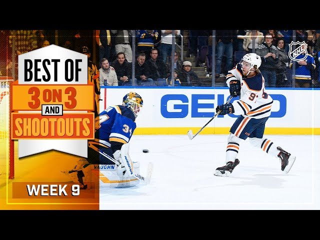 Best 3-on-3 and Shootout Moments from Week 9